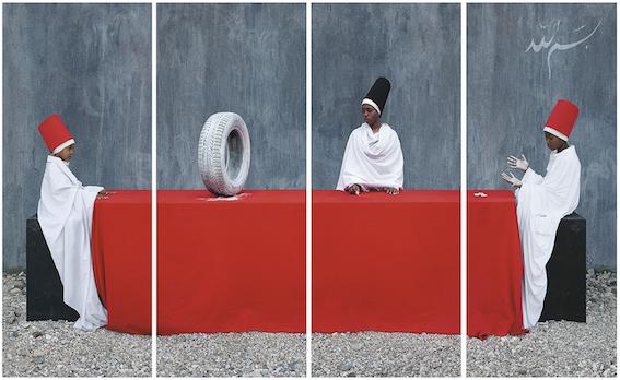 Maïmouna Guerresi, Rubber Tire, First Lesson