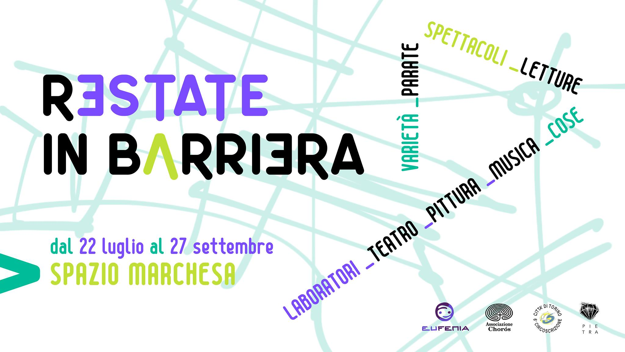 Restate in Barriera - Laboratori artistici nel weekend