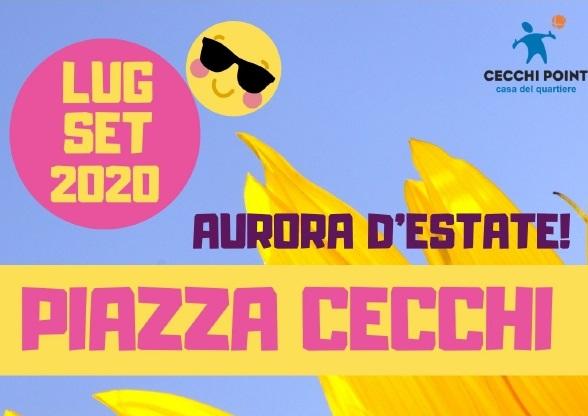 Piazza Cecchi: sere d'estate al Cecchi Point