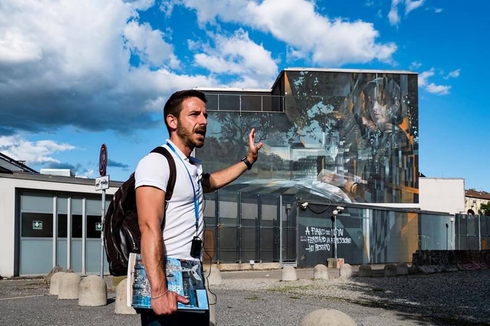Tour guidato ai murales di Toward 2030