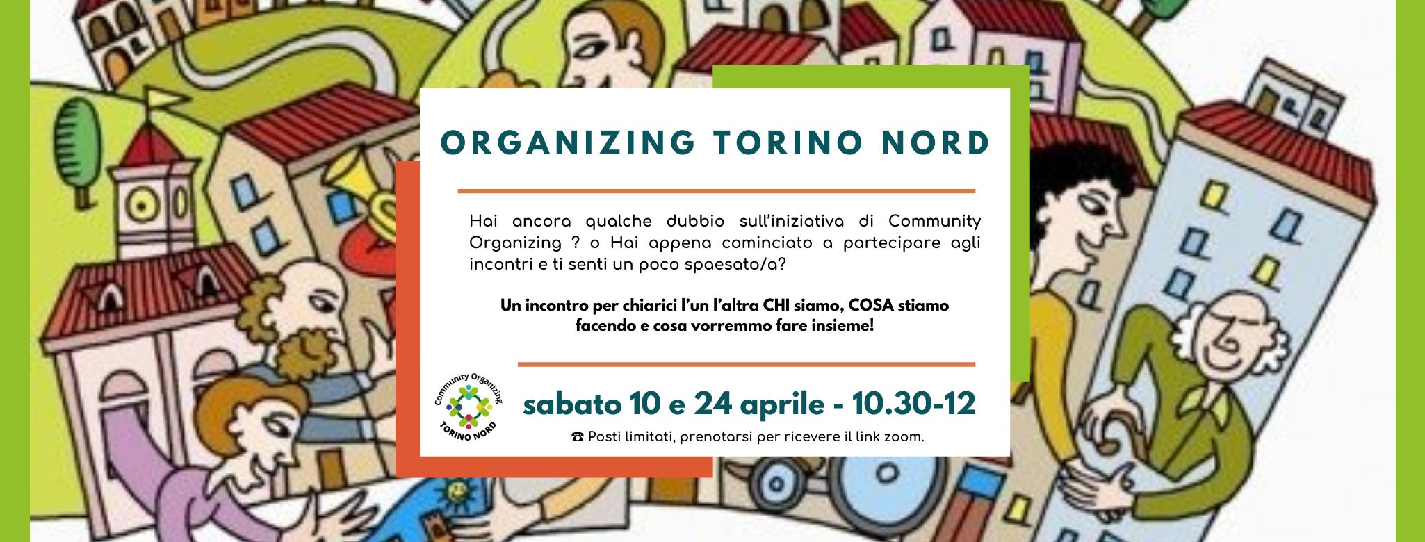 Incontro di Community Organizing Torino Nord