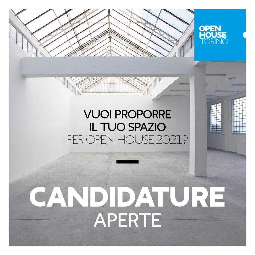 Open House Torino 2021 - Locandina