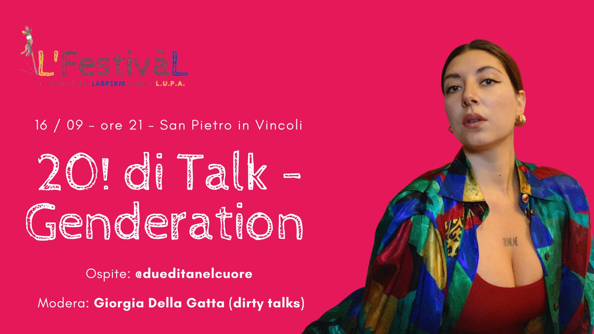 20! DI TALK - Genderation