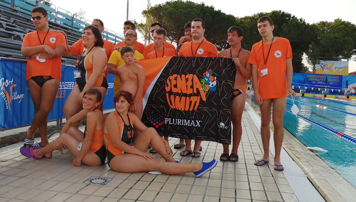 Corso di nuoto per atleti diversamente abili, intellettivi lievi e medio-lievi